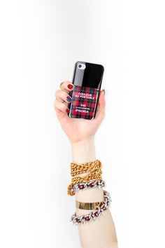 """Couleur Au Portable """"Clan Parisienne"""" for iPhone 4/4S and iPhone 5/5S"""