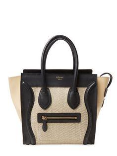 a4f6e1a24dd5 ... Business Card Holder BR3107 cornflower blue Saffiano Leather. Olivia  Woo · Handbag · Beige Tri Fabric Lug Micro from Designer Handbags  Perfect  ...