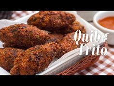 Como fazer Quibe Frito (Vegan) - YouTube