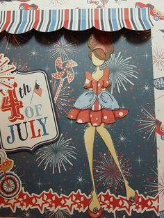 July calendar page by Sheryl Bisogno.