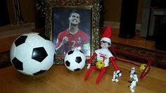 Elf on the Shelf - Cristiano Ronaldo Super Fan