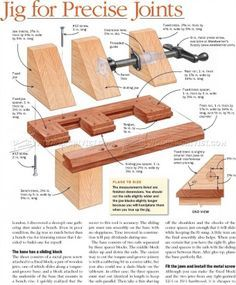 #642 Miter Shooting Block Plans - Joinery Tips, Jigs and Techniques