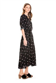 Floral Midi Dress - Country Road