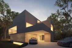 Villa in The Netherlands by Hofman Dujardin Architects - render: