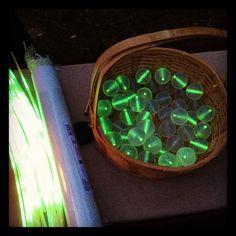 Big Basket of Glowing Golf Balls! http://glowproducts.com/noveltyglowproducts/nightgolfball/ #GlowGolf