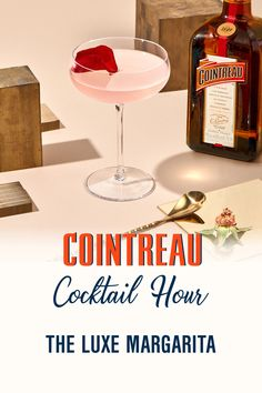 Let's toast to Cocktail Hour with The Luxe Margarita. Swipe to the end for the recipe and visit Cointreau.com for more Cocktail Hour ideas. Bar Drinks, Yummy Drinks, Alcoholic Drinks, Beverages, Cointreau Cocktails, Martinis, Cocktail Mix, Cocktail Drinks, Refreshing Summer Cocktails