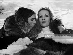 Pierre Clementi And Claudine Auger On The Shooting Of The Film Et Si On Faisait L'Amour In 1968 february 04 (1024×777)