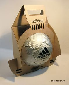Clever #soccer ball #packaging by Ilya Avakov