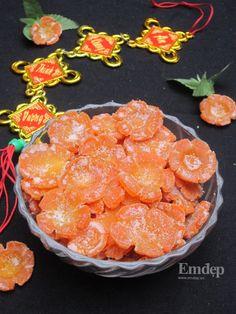 Cách làm mứt cà rốt ngon đúng vị