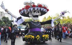Resultado de imagen para fiesta de los muertos desfile