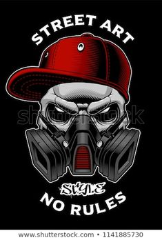 Graffiti skull with gas mask Royalty Free Vector Image , Gas Mask Art, Masks Art, Gas Mask Drawing, Graffiti Drawing, Street Art Graffiti, Graffiti Characters, Chicano Art, Skull Art, Mask Design