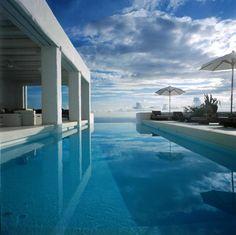 Greek Island (Sifnos) Architecture - by ZEGE