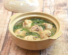 PInatisang Manok is a Filipino dish made with chicken and chili leaves stewed in a ginger-flavored broth. Hearty and flavorful, it's comfort food at its best
