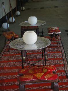 Killims y mesas Marroquíes