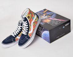 #Vans Sk8-Hi Star Wars Yoda Aloha #sneakers