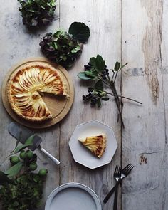 Homemade Apple Tart. by nonihana_