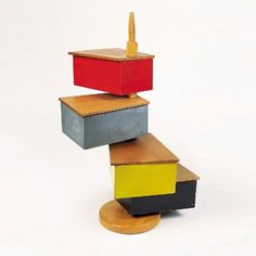 gerrit rietveld container sewing box