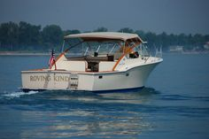 30' Chris Craft Commander Sportsman owned by my friend Don McIntrye.  Photo Credit © Jeff Rohlfing @Chris-Craft Boats