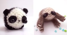 Who doesn't love miniature wooly handmade creatures? Especially these ones by Mohustore! - no patterrn, link to etsy