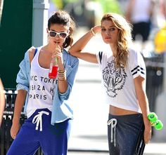 Jessica Hart: Gym outfit inspiration.