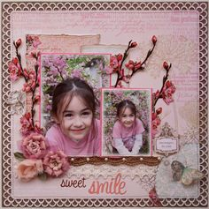 Sweet Smile **NEW! Webster's Pages 'Everyday Poetry!'** - Scrapbook.com