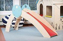 Indoor playground slide - Soloette $195