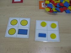 Trabalhando com blocos lógicos , formas , cores , quantidades , localização espacial ...