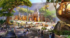 Jurassic Dream Theme Park Project. Thinkwell
