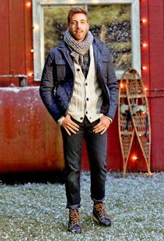 Getting Inspired from Men's Wintertime Fashion