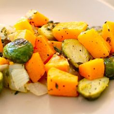 Brussel Sprouts with Butternut Squash Recipe - Key Ingredient
