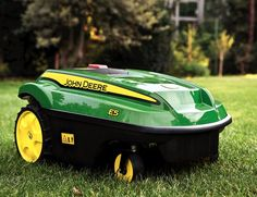 Self Powered Lawn Mower by John Deere...I knew it was just a matter of time