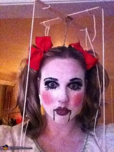 Marionette Doll - Halloween Costume Contest via @costumeworks