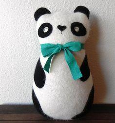 r e s e r v e d listing  the Panda by ThreeBadSeeds on Etsy, $70.00