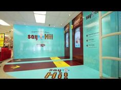 "▶ ""Say Hi!"" Don Quijote Interactive Photo Station - Total Visual Branding - YouTube"
