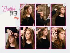 DIY Hairstyles: Easy Step-by-Step Hair Tutorials - iVillage Health Tips For Women, Health And Beauty, Health Class, Health And Nutrition, Health Fitness, Health Trends, Health Guru, Hair And Makeup Tips, Pregnancy Health