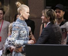 On the rocks? While Nicole Kidman, 49, shined at the Sydney premiere of her new movie Lion, she also allegedly engaged in an embittered argument with husband Keith Urban