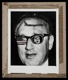 Peter Kennard 'The Kissinger Mind', 1979 © Peter Kennard