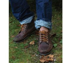 This shoe is for walking: LL Bean Ranger Moc
