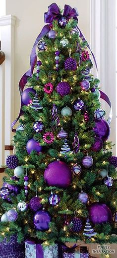 Purple Christmas | Purely Inspiration