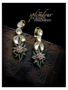 Few tips and tricks to help you choose your earrings according to your features and face cut.  #Jewellery #Tips #Fashion