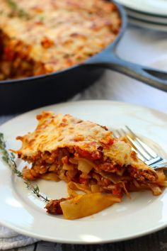 Deconstructed Stuffed Cabbage Casserole Recipe by Kalyn's Kitchen ...