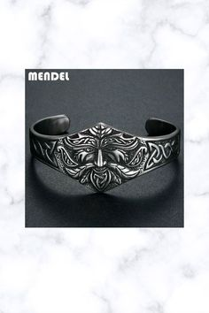 Stainless Steel Ancient Norse Viking Cuff Bracelet Bangle Viking Metal, Bangle Bracelets, Bangles, Norse Vikings, Fantasy Jewelry, Celtic, Viking Series, Rings For Men, Handmade Items