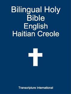 Bilingual Holy Bible English Haitian Creole by Transcripture International. $3.94