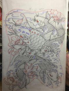 Cá Chép Tattoo