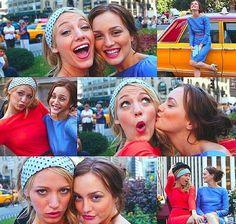 Blair and Serena's photoshoot