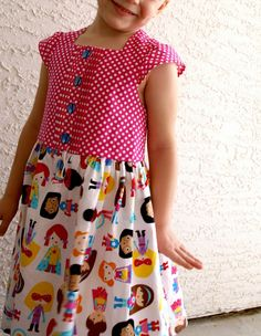 CraftingCon Sew Along: Avengers Month- AllSpice Dress by Paisley Roots