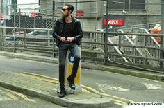 Justin O'shea, Dapper Men, Leather Pants, Style, Fashion, Moda, Fashion Styles, Leather Joggers, Leather Leggings