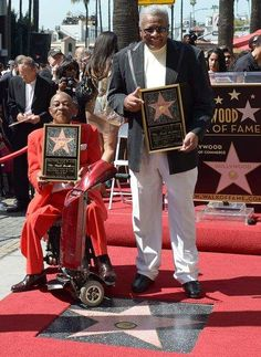 """Motown's Funk Brothers Honored with Hollywood Walk of Fame Star For Motown fans, it was another step toward justice for a band whose musical contributions were long overlooked. Largely uncredited on Motown records during the 1960s, the Funk Brothers came to wider acclaim only after the award-winning 2002 documentary """"Standing in the Shadows of Motown."""""""