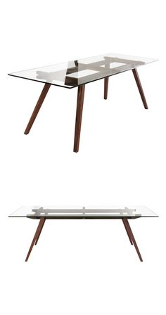 With a decidedly contemporary aesthetic mixed with mid-century elements, the Serenada Dining Table brings an ideal blend of styles and a fresh look to spice up a casual space. It plays masterfully with...  Find the Serenada Dining Table, as seen in the Dining Tables Collection at http://dotandbo.com/category/furniture/tables/dining-tables?utm_source=pinterest&utm_medium=organic&db_sku=117247