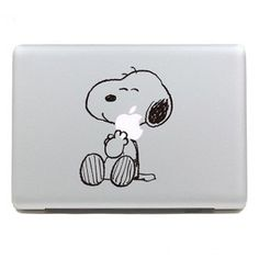 Snoopy Decal Charlie Brown Decal  Macbook Pro Decal by visualboss, $8.90